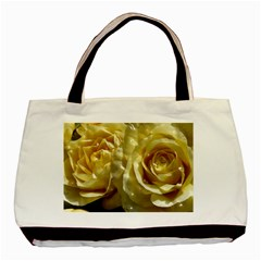 Yellow Roses Basic Tote Bag (two Sides)