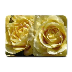 Yellow Roses Small Doormat