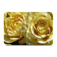 Yellow Roses Plate Mats