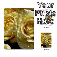 Yellow Roses Multi Purpose Cards (rectangle)