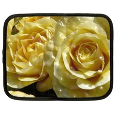 Yellow Roses Netbook Case (large)