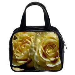 Yellow Roses Classic Handbags (2 Sides)