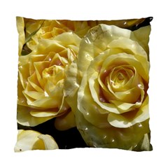 Yellow Roses Standard Cushion Case (one Side)