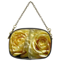 Yellow Roses Chain Purses (two Sides)