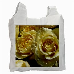Yellow Roses Recycle Bag (one Side)