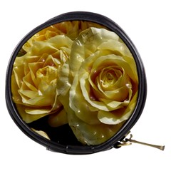 Yellow Roses Mini Makeup Bags