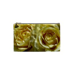 Yellow Roses Cosmetic Bag (small)