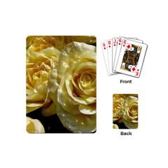 Yellow Roses Playing Cards (mini)