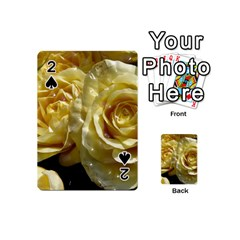 Yellow Roses Playing Cards 54 (Mini)