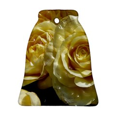 Yellow Roses Ornament (Bell)