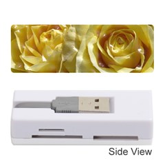 Yellow Roses Memory Card Reader (stick)