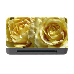 Yellow Roses Memory Card Reader with CF