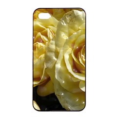 Yellow Roses Apple iPhone 4/4s Seamless Case (Black)