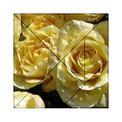 Yellow Roses Acrylic Tangram Puzzle (6  x 6 )