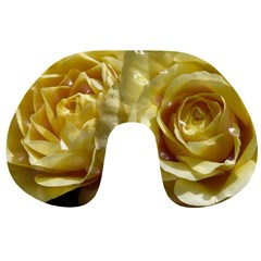 Yellow Roses Travel Neck Pillows
