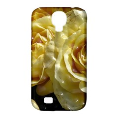 Yellow Roses Samsung Galaxy S4 Classic Hardshell Case (pc+silicone)