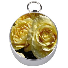 Yellow Roses Silver Compasses