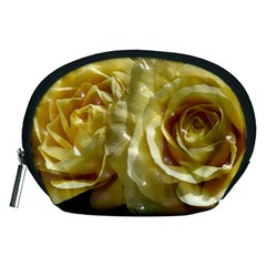 Yellow Roses Accessory Pouches (medium)
