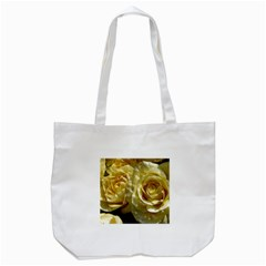Yellow Roses Tote Bag (white)