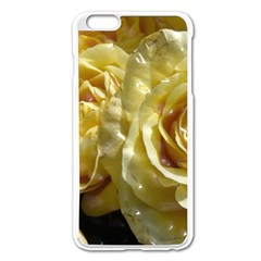 Yellow Roses Apple Iphone 6 Plus Enamel White Case