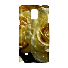 Yellow Roses Samsung Galaxy Note 4 Hardshell Case
