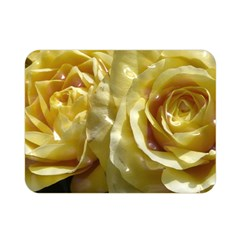 Yellow Roses Double Sided Flano Blanket (Mini)