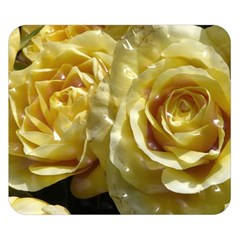Yellow Roses Double Sided Flano Blanket (Small)