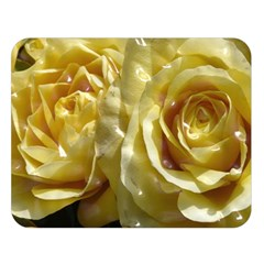 Yellow Roses Double Sided Flano Blanket (Large)