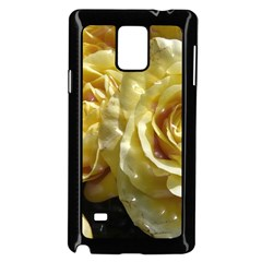 Yellow Roses Samsung Galaxy Note 4 Case (Black)