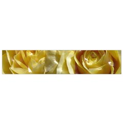 Yellow Roses Flano Scarf (Small)