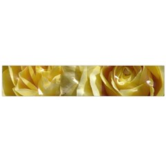 Yellow Roses Flano Scarf (Large)