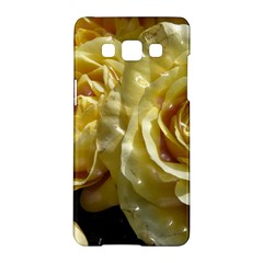 Yellow Roses Samsung Galaxy A5 Hardshell Case