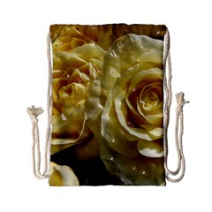Yellow Roses Drawstring Bag (small)