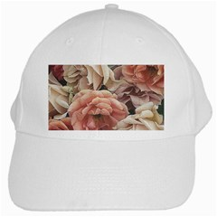Great Garden Roses, Vintage Look  White Cap