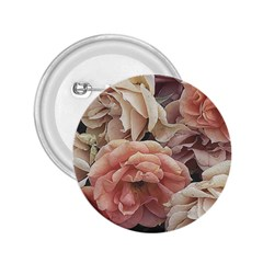 Great Garden Roses, Vintage Look  2.25  Buttons