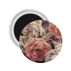 Great Garden Roses, Vintage Look  2 25  Magnets