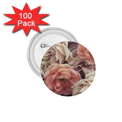 Great Garden Roses, Vintage Look  1 75  Buttons (100 Pack)