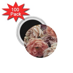 Great Garden Roses, Vintage Look  1 75  Magnets (100 Pack)