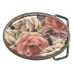 Great Garden Roses, Vintage Look  Belt Buckles