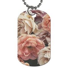 Great Garden Roses, Vintage Look  Dog Tag (one Side)