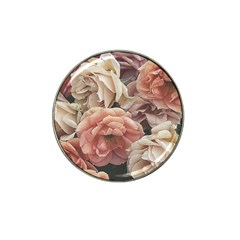 Great Garden Roses, Vintage Look  Hat Clip Ball Marker (4 Pack)