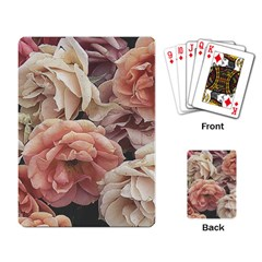 Great Garden Roses, Vintage Look  Playing Card