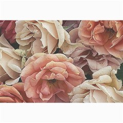 Great Garden Roses, Vintage Look  Collage 12  X 18