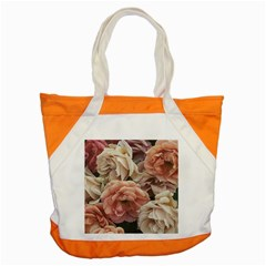Great Garden Roses, Vintage Look  Accent Tote Bag