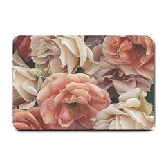 Great Garden Roses, Vintage Look  Small Doormat