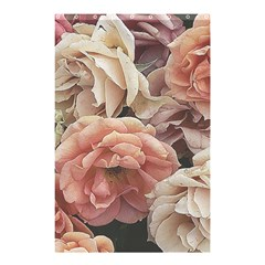 Great Garden Roses, Vintage Look  Shower Curtain 48  x 72  (Small)