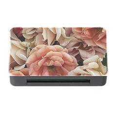 Great Garden Roses, Vintage Look  Memory Card Reader With Cf