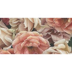 Great Garden Roses, Vintage Look  YOU ARE INVITED 3D Greeting Card (8x4)