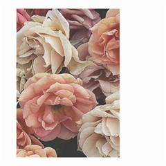 Great Garden Roses, Vintage Look  Small Garden Flag (two Sides)