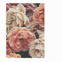 Great Garden Roses, Vintage Look  Large Garden Flag (two Sides)
